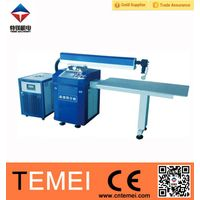 Welding machine for stainless steel back water resistant metal sign