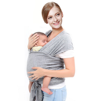Miracle Baby cotton sling & swaddle for newborns,wrapping straps and free-ring baby sling