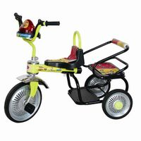 RAMBO children two seats tricycle