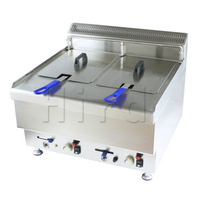 Gas fryer with CE HZH-TRC-3