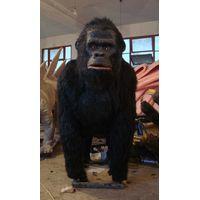 Animal theme park realistic animatronic animal gorilla