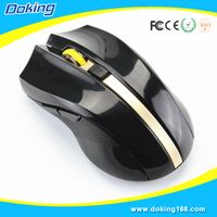 6 Button 2.4G Wireless Gaming Mouse from Meizhou Doking Electronic Technology Co., Ltd.