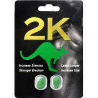 Kangaroo Sex Pills 2K for Men 2Pcs