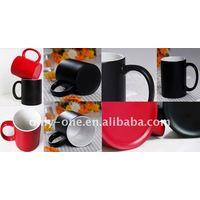 11 oz Sublimation Color Changing Mug