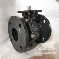 2 PC Floating Carbon Steel RF Ball Valve