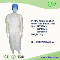 LY Disposable PPE Isolation Gown Surgical Gowns With Elastic Cuffs thumbnail image