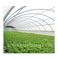 Single / multi-span agricultural greenhouses with PE film or PC board thumbnail image