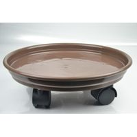 Moving flower pot tray/Flower pot tray with wheels