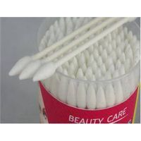 100pcs Cylinder Beauty Care Double Cuspidal Cotton Swabs
