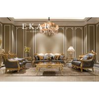 Furniture Living Room Design 7 Seater Buy From China Fabric European Style Leather Luxury Sofa Set
