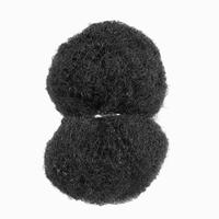Afro kinky human hair bulk for dreadlocks and braiding