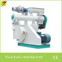 HKJ250 poultry feed pellet mill