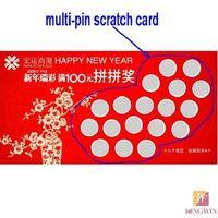 Paper Scratch Card Printing