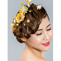 Flowers hair ornaments