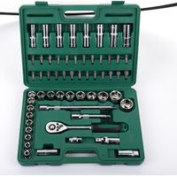 "58pcs 1/2"" drive auto repairing tool set vehicle socket wrench set"