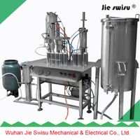 3 in 3 tables type Aerosol can spray filling machine thumbnail image