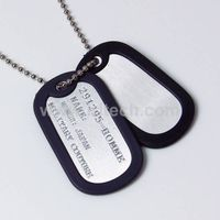 Fashionable 316L wholesale stainless steel dog tag/wholesale stainless steel dog tag