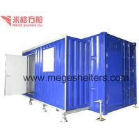 2-in-1 Expandable Container House