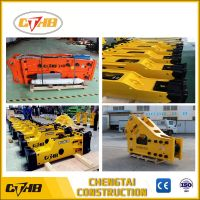 Side /top open type/box silence type hydraulic rock breaker