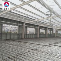 Easy assembly office workshop prefab steel structure workshop equipped mezzanine floor thumbnail image
