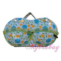 11.Cute flower design bra travel case oem seyvice