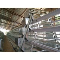 A Type Hot Galvanized Layer Chicken Cage