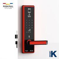 Smartapp bluetooth door lock BABA-8201 Swipe Card Fingerprint Opening Keyless Entry Handle Door Lock thumbnail image