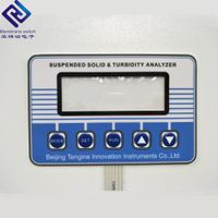 Custom Membrane Keypad Touch Screen Switch Capacitive Push Button thumbnail image