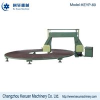 Automatic circular sponge cutting machine