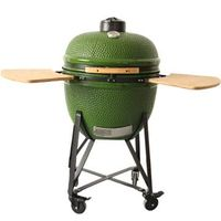 Profession BBQ Charcoal Clay Kamado Grill