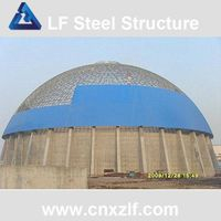 steel space frame for coal storage thumbnail image