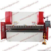 CNC press brake machine for sheet metal bending WC67K-125T3200