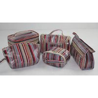 PU cosmetic bag for lady
