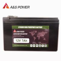 12V 7Ah Auto Battery Stater Battery   Lithium Ion Rechargeable Battery  Lifepo4 Ebike Battery