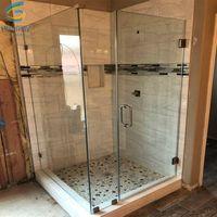8mm 10mm frameless shower door glass