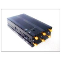 CPJ3050 Portable Six Antenna for all Cellular-GPS-Lojack-Alarm Jammer system thumbnail image