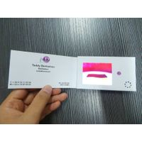 video brochure, LCD greeting card, video greeting card