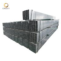 ASTM steel profile ms square tube galvanized Furniture Rectangular Pipe FactoryConstruction Recta