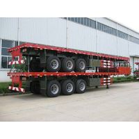 40ft 3-Axle Flatbed Trailer