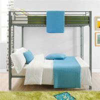 modern fashionable living room furniture full over full metal frame child bunk bed