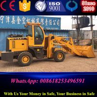 2T front wheel loader price