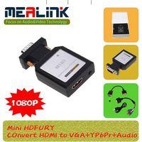 Mini Hdfury HDMI to VGA+YPbPr+Audio Adapter thumbnail image