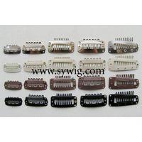 hair clips/ clips/ clamp/gripper/ wig clip/ toupee clip/sanp clip thumbnail image