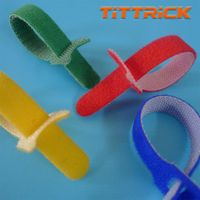 Tittrick Magic Easy-to-Use Cable Ties Reusable Hook and Look thumbnail image