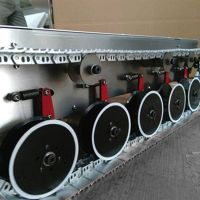 All Metel Track Tank Chassis