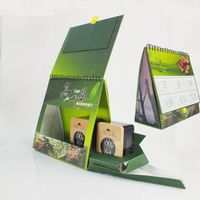 Stone paper desk calendar tea packaging