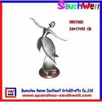 polyresin gifts,sliver dancing figurines