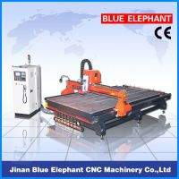 ELE-2040 router cnc machine manufacture with vacuum and T-slot table
