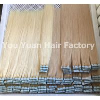 100% Premium Remy Human Hair Tape in Extensions Luxury Hair Long Hair Double Drawn Seamless Tape