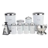 home storage bin stainless steel kitchen set